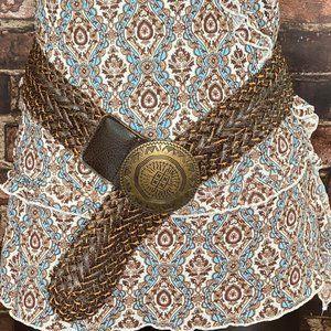 Vintage Braided Wrap Belt  - Boho Accessory